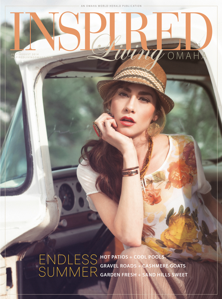Style Living Magazine colorado mountain bohemian fashion editorial for inspired living