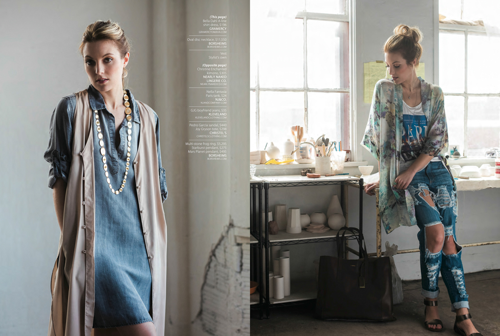 Lifestyle Fashion Editorial For Inspired Living Magazine By Heather And Jameson8 Heather And